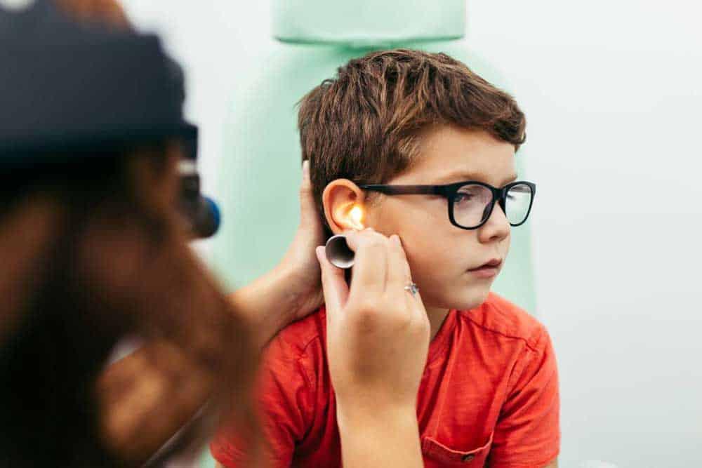 Conductive vs sensorineural hearing loss